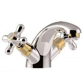 Paffoni Iris håndvaskarmatur - Forkromet guld