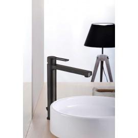 Paffoni Ringo håndvaskarmatur højt - Mat sort