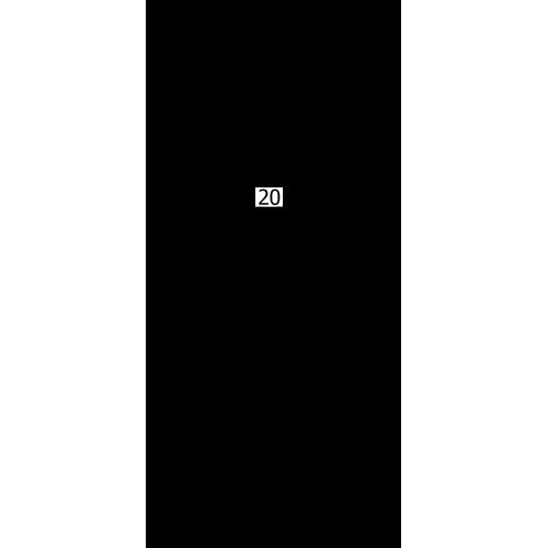 """Paffoni Level termostatbatteri 1/2"""" afg. nedad - Krom"""