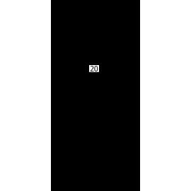 """Paffoni Level termostatbatteri 1/2"""" afg. nedad - Stål look"""