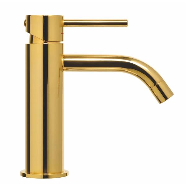 Paffoni Light håndvaskarmatur - Poleret Messing