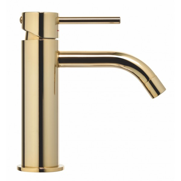 Paffoni Light håndvaskarmatur - Hvid Guld