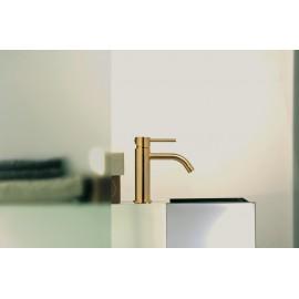 Paffoni Light håndvaskarmatur - Børstet Messing