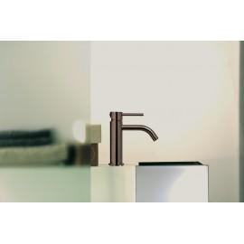 Paffoni Light håndvaskarmatur - Børstet Sortkrom