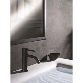 Paffoni Light håndvaskarmatur - Mat sort